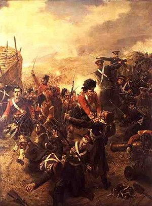 Battle of the Great Redan - Image: Attack On Redan By Robert Hillingford 1899