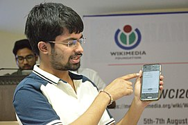 Atul Kumar Shows Event Based Notification - Hackathon - Wiki Conference India - CGC - Mohali 2016-08-07 8635.JPG