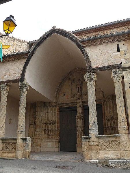Saint-Pierre-aux-Liens' church of Aurignac (Haute-Garonne, Midi-Pyrénées, France).