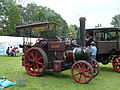 Aveling and Porter light steam tractor, 'The Pirate', Abergavenny steam rally, 2015.jpg