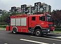 Axor 1829 fire engine at Baijiatuanxikou (20170704142218).jpg