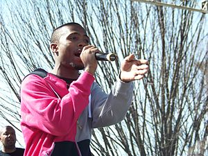 B.o.B - B.o.B performing in Atlanta in 2008