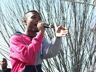 B.o.B - B.o.B performing in Atlanta in 2008
