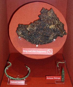 Segedunum - Fragments of armour found at Segedunum