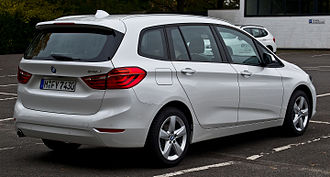 BMW 2 Series - BMW 218d Gran Tourer Advantage (Germany)