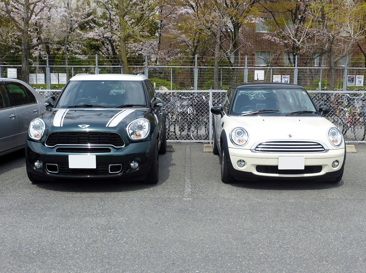 Mini mini cooper crossover : File:BMW MINI ONE (R56) & MINI COOPER S CROSSOVER (R60) front.JPG ...