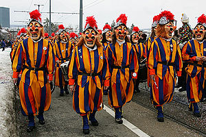 Schränz-Gritte, Carnival of Basel / Switzerland