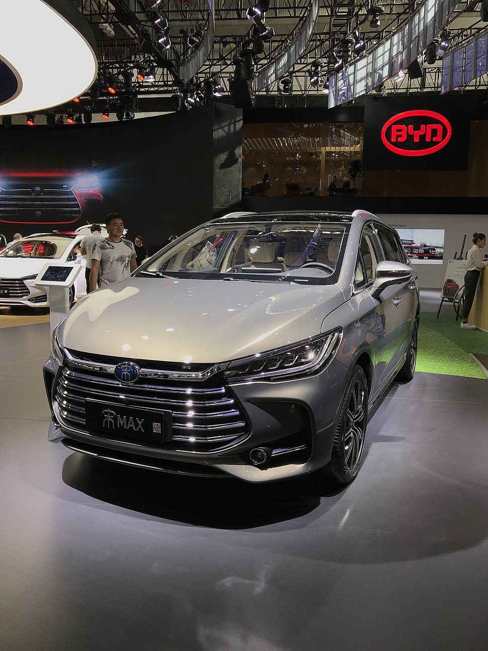 BYD Song Max facelift