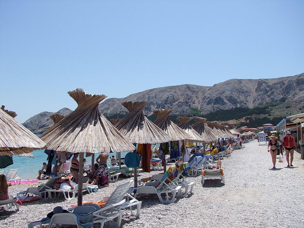 Baška beach