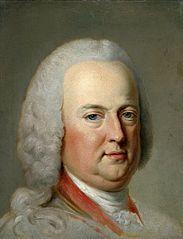 Portrait of Heinrich von Brühl.