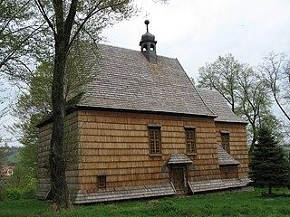 Bachórzec Village in Subcarpathian Voivodeship, Poland