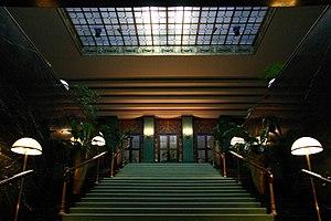 Kurhaus of Baden-Baden - The principal staircase