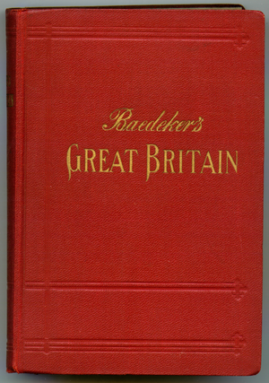 Baedeker - Baedeker's Great Britain guide for 1937 is typical of most of the different country guides produced
