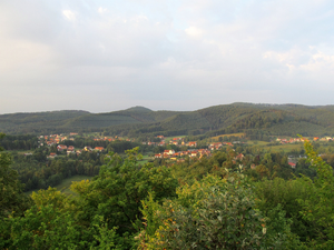 Baerenthal - View from Ramstein castle