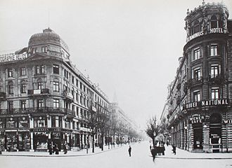 UBS - In 1917, the Union Bank of Switzerland opened a new headquarters on Bahnhofstrasse (pictured above) in Zürich.
