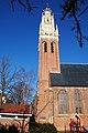 Bakkenesser church with a phenomenal white towertop at Haarlem - panoramio.jpg