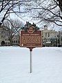 Baldwin Wallace University historic marker.JPG