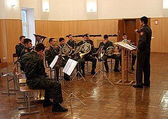 Moscow Military Music College - The cadet band