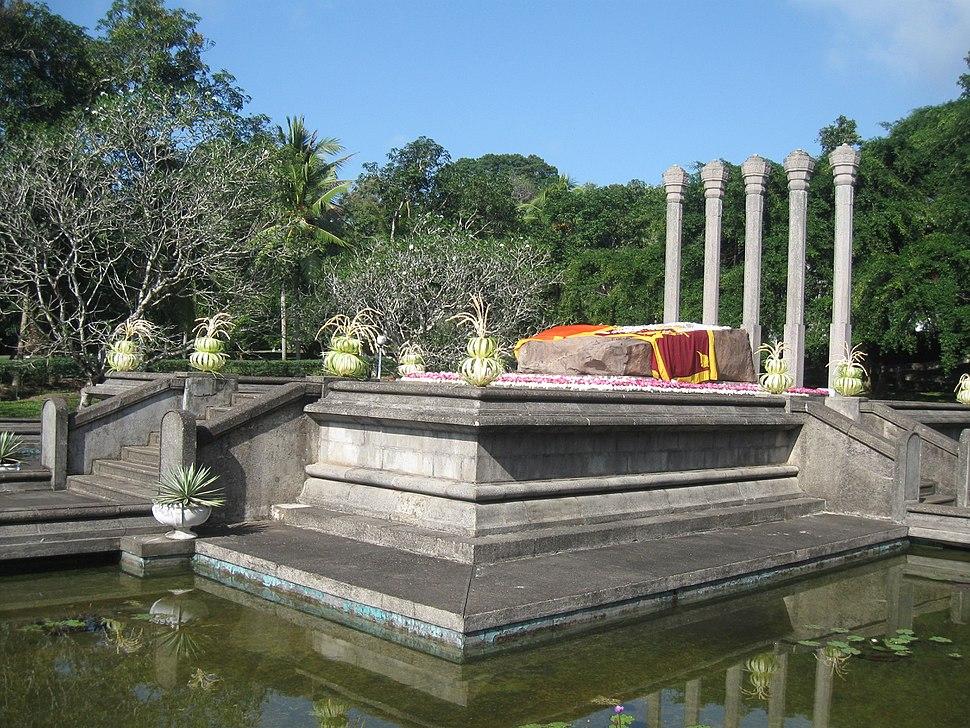 Bandaranaike Samadhi at Horagolla, Sri Lanka