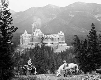 Canadian Pacific Hotels - Banff Springs Hotel in Banff, Alberta, 1929