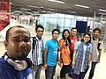 Bangla Wikipedia team way to India to attend WikiConference India 2016.jpg