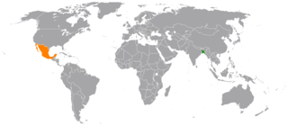 Bangladesh–Mexico relations Diplomatic relations between the Peoples Republic of Bangladesh and the United Mexican States