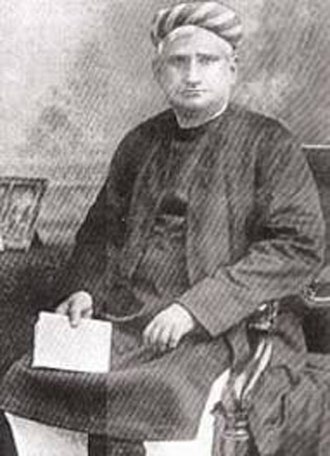 Indian literature - Bankim Chandra Chatterjee, the author of India's National Song 'Vande Mataram'.