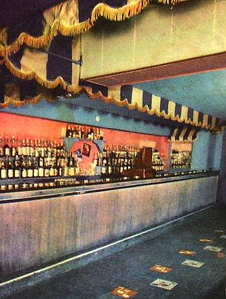 Birdland (New York jazz club) - Birdland bar