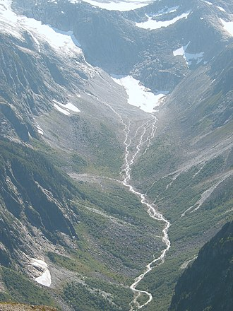 Baranof River - The source of Baranof River.