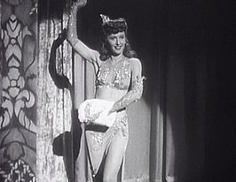 Barbara Stanwyck in Lady of Burlesque