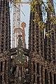 Barcelona - Plaça de Gaudí - View SW on La Sagrada Família - Nativity façade VI.jpg