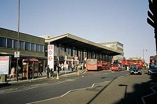 Barking station Interchange railway station in London