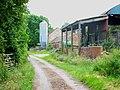 Barn and silo near Fulford - geograph.org.uk - 199450.jpg