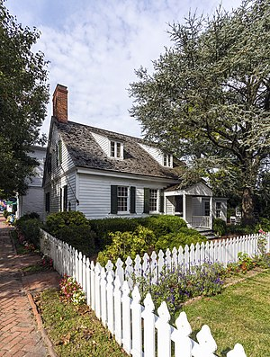 National Register of Historic Places listings in Talbot County, Maryland - Image: Barnaby House Oxford MD1