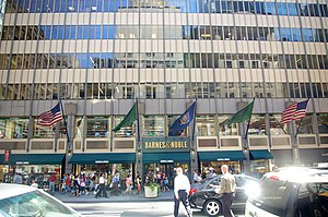 Barnes & Noble headquarters, 122 5th Ave, New ...