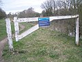 Barrier at Old Windsor Lock Cut - geograph.org.uk - 1777647.jpg