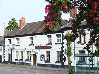 Shrivenham - The Barrington Arms public house.