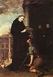 Bartolomé Esteban Murillo: Thomas of Villanova heals the sick