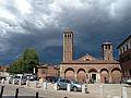 Basilica Sant'Ambrogio Milano - esterno - cielo plumbeo - 2014-07-09 - by Maurizio OM Ongaro DSCN5846.jpg