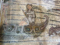 Basilica di aquilieia, mosaici, fishing and Jonah's stories carpet 33.JPG