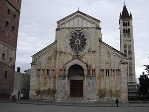 Basilica of San Zeno, Verona - The basilica of San Zeno
