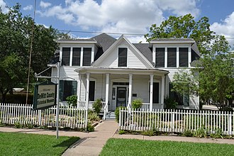 National Register of Historic Places listings in DeWitt County, Texas - Image: Bates Sheppard House, Cuero, Texas