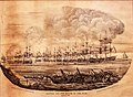 Battle off the Mouth of the Nile, 3 August 1798, by John Theophilus Lee - print.jpg