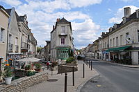 Baugé - Angle rue Victor Hugo rue Basse (2011).jpg