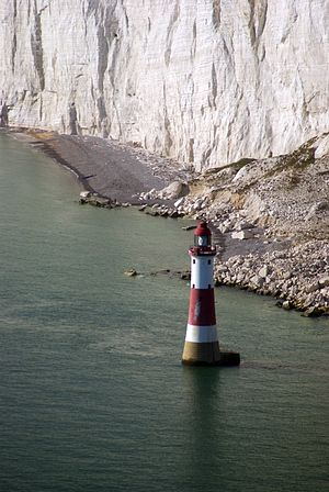 Beachy Head Lighthouse - Image: Beachy Head Lighthouse, East Sussex, England 2Oct 2011