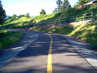 Phoenix, Oregon - The Bear Creek Greenway in Phoenix.