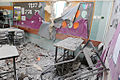 Beersheva kindergarten after rocket attack from Gaza 1.jpg