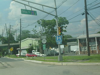 New Jersey Route 19 - Route 19 beginning at the intersection with Colfax Avenue (CR 609) in Clifton