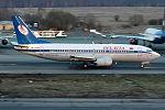 Belavia, EW-254PA, Boeing 737-3Q8 (26582632115).jpg