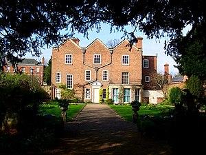 Belgrave Hall - Belgrave Hall: the garden front